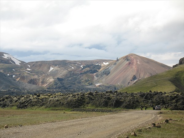 Термальные поля Ландманналаугара (Landmannalaugar).