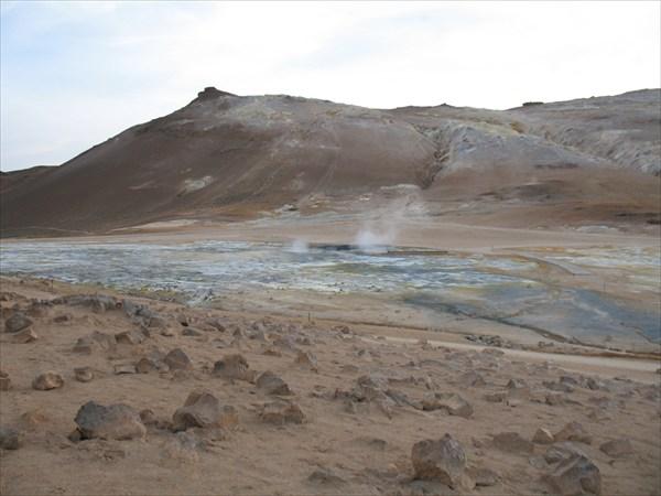 Термальные поля в районе озера Миватн. (Myvatn).