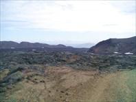 Лавовые поля на поъезде к вулкану Аскья (Askja).
