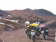 Питерские мотоциклы около Аскья