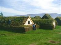Старинные жилища исландцев