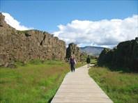 В национальном парке Тингвиллер (Thingviller)
