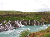 Водопад Барнафосс (Barnafoss)