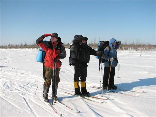 Через Оршанский мох на лыжах