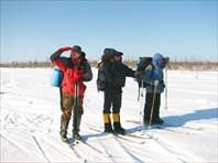 Лыжный поход к озеру Великому и деревне Остров