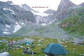Лагерь на верхней ступени Джелсуг-чат