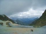 На леднике Юго-Зап. Даут