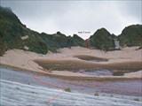 Путь подъема на перевал Седло 1Б