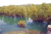 речка источника Карасу Баши. Весенний разлив