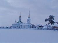 Церковь в Берёзове