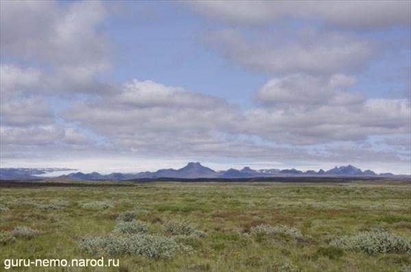 Исландская тундра