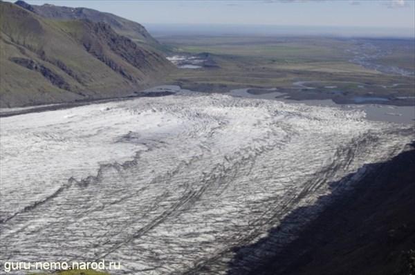 Ледник Skaftafell