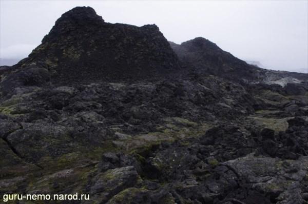 Лавовые поля вулкана Krafla