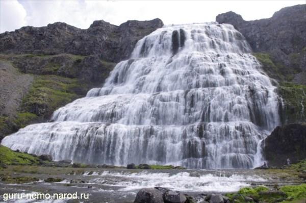Водопад Dynjandifoss