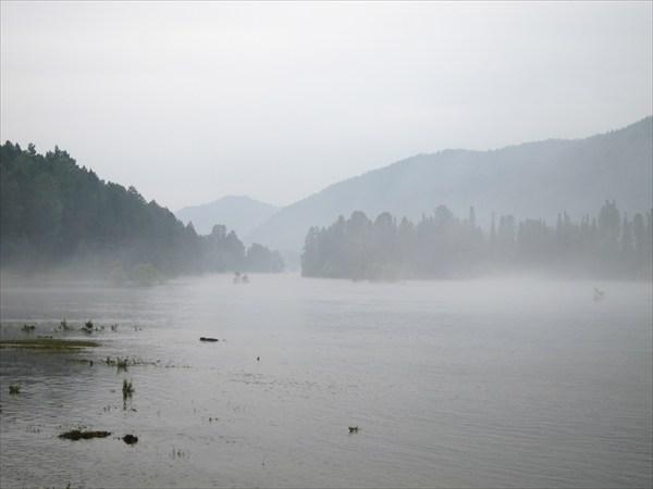 Туман над Бией