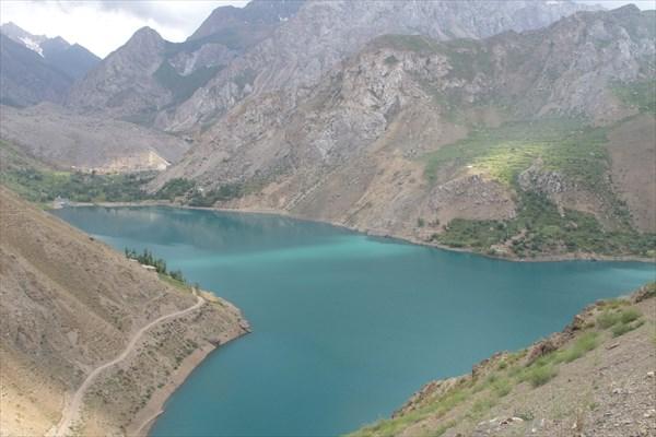 Пятое озеро сверху
