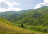 Начало подъема на перевал Хучу-Худжюр