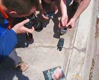фотографирование показаний gps