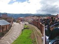 Въезжаем в городок Гаутаме (3056 м над уровнем моря)