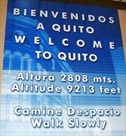 Добро пожаловать в Кито!