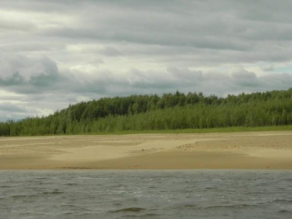 Протока Лапорская.