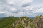 Вид на хребет Большой Таганай