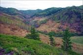 Вид на долину Яровки с севера