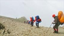 Спуск с перевала Чаткара.