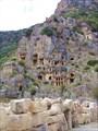 Некрополь в скале