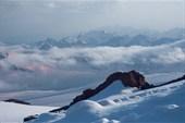 Вид на Кавказ с высоты