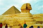 Пирамида Хефрена XXVI века до н. э., Большой Сфинкс, Гиза, Каир