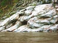 Подъем воды до скал