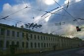 небо в Питере сфотографировать довольно непросто:)
