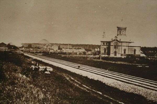 Вокзал в Волхове