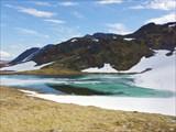 Озерцо на перевале