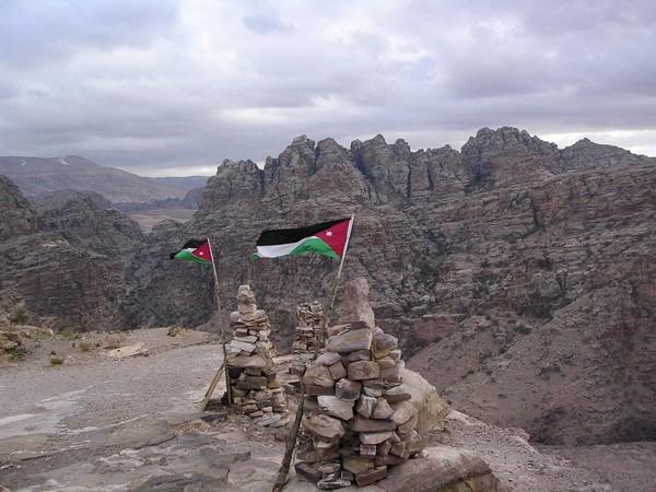 на фото: Иордания