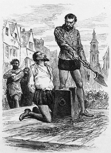 088-Execution of Sir Walter Raleigh