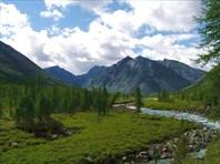 По реке Онот. Восточный Саян. Лето 2006