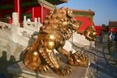 Львица, играющая со львенком, олицетворяет потомство императора