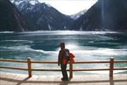 самое дальнее и высокое озеро Цзючжайгоу (левая ветка)