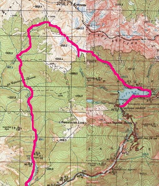 Гегское ущелье - Турьи горы - Ацетука - Рица