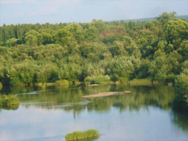 Река Золотой Китат.