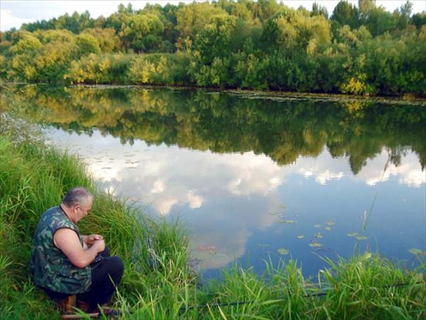 Река Золотой Китат и я.