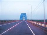 Новый мост через Енисей.