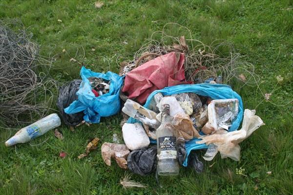 Первый мусор, вынесенный из Иллюзии