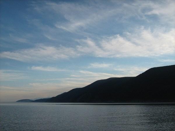 Закат с Байкала
