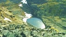 Озеро под обрывом Сэлсурт