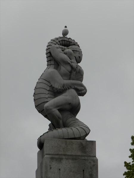 В парке скульптур Вигелана
