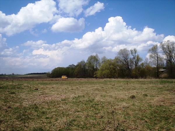 Луг в районе н.п.Староселье Калужской области