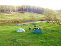 Сплав по реке Серена. Калужская область.